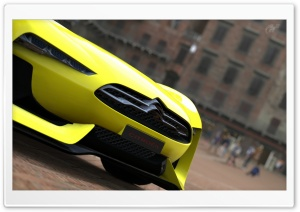 Citroen Concept Road Car HD Wide Wallpaper for Widescreen