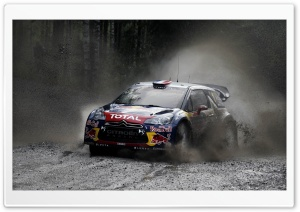 Citroen Rally WRC Redbull HD Wide Wallpaper for Widescreen