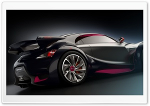 Citroen Survolt Prototype Supercar HD Wide Wallpaper for Widescreen