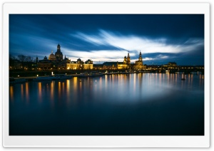 City at the River Ultra HD Wallpaper for 4K UHD Widescreen desktop, tablet & smartphone