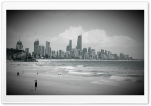 City Beach HD Wide Wallpaper for Widescreen