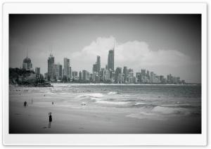 City Beach HD Wide Wallpaper for 4K UHD Widescreen desktop & smartphone