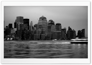 City Black And White 2 HD Wide Wallpaper for Widescreen