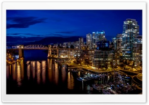 City Harbour HD Wide Wallpaper for 4K UHD Widescreen desktop & smartphone