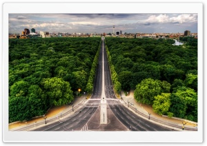City Highway HD Wide Wallpaper for Widescreen