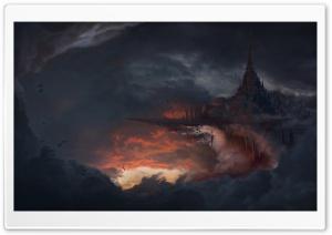 City In The Clouds Ultra HD Wallpaper for 4K UHD Widescreen desktop, tablet & smartphone