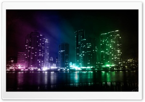 City Lights HD Wide Wallpaper for 4K UHD Widescreen desktop & smartphone