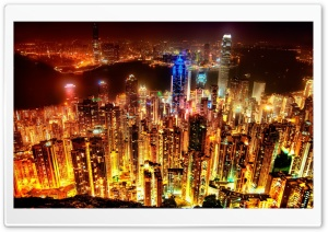 City Lights HD Wide Wallpaper for Widescreen