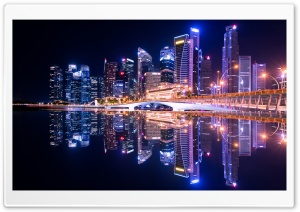 City, Night HD Wide Wallpaper for 4K UHD Widescreen desktop & smartphone