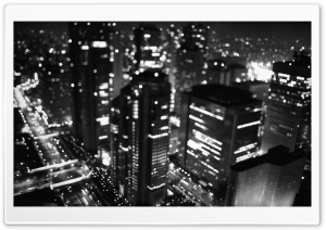 City Night HD Wide Wallpaper for Widescreen
