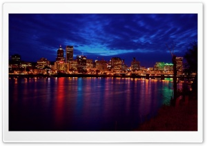 City Night Lights HD Wide Wallpaper for Widescreen