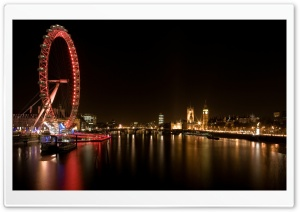 City Night Scenes England Ultra HD Wallpaper for 4K UHD Widescreen desktop, tablet & smartphone
