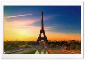 City of Love HD Wide Wallpaper for Widescreen