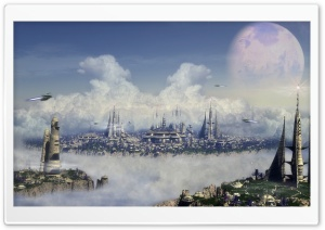City Of The Future HD Wide Wallpaper for Widescreen