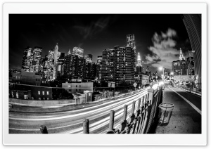 City Rush at Night HD Wide Wallpaper for Widescreen