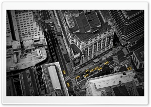 City Streets HD Wide Wallpaper for Widescreen