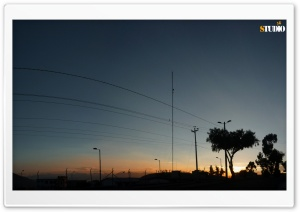 City Sunrise HD Wide Wallpaper for Widescreen