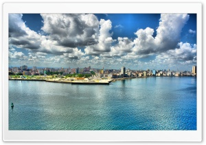 City Waterfront HD Wide Wallpaper for Widescreen