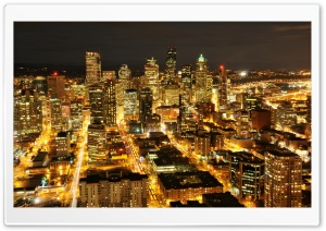 Citylights HD Wide Wallpaper for Widescreen