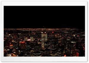 Cityscape Night HD Wide Wallpaper for Widescreen
