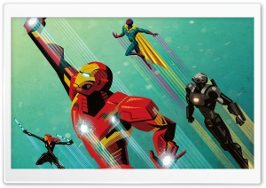 Civil War Artwork Iron Man HD Wide Wallpaper for 4K UHD Widescreen desktop & smartphone