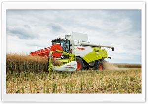 Claas Tucano 580 harvesting Ultra HD Wallpaper for 4K UHD Widescreen desktop, tablet & smartphone