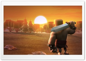 Clash Of Clans HD Wide Wallpaper for Widescreen