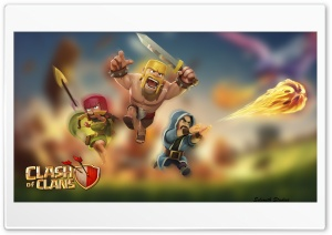 Clash of Clans Wall Paper HD Wide Wallpaper for Widescreen