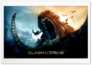 Clash Of The Titans HD Wide Wallpaper for Widescreen