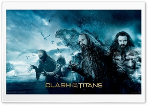 Clash Of The Titans, 2010 Movie HD Wide Wallpaper for 4K UHD Widescreen desktop & smartphone