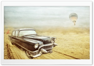 Classic Cadillac HD Wide Wallpaper for Widescreen