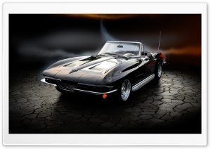 Classic Chevy Stingray HD Wide Wallpaper for Widescreen