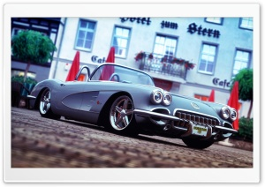 Classic Corvette Gran Turismo 5 HD Wide Wallpaper for Widescreen