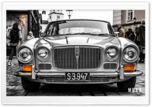 Classic Jaguar XJ6 HD Wide Wallpaper for 4K UHD Widescreen desktop & smartphone