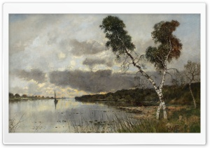 Classic Painting HD Wide Wallpaper for Widescreen