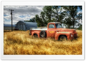Classic Truck HD Wide Wallpaper for Widescreen