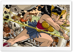 Classic Wonder Woman HD Wide Wallpaper for Widescreen