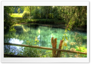 Clear Lake HDR HD Wide Wallpaper for Widescreen