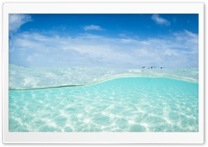 Clear Ocean Water HD Wide Wallpaper for Widescreen