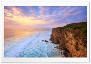 Cliff - Ocean HD Wide Wallpaper for Widescreen