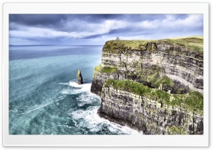 Cliff of Moher Ultra HD Wallpaper for 4K UHD Widescreen desktop, tablet & smartphone