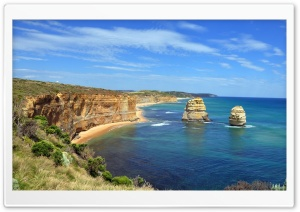 Cliffs Nature Ocean Australia HD Wide Wallpaper for Widescreen