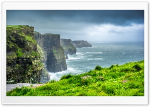 Cliffs of Moher, Ireland Ultra HD Wallpaper for 4K UHD Widescreen desktop, tablet & smartphone