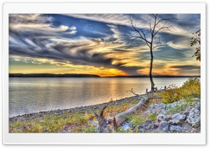 Clinton Lake, Lawrence, Kansas HD Wide Wallpaper for Widescreen