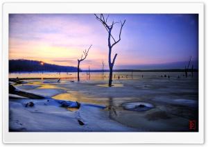 Clinton Lake Winter