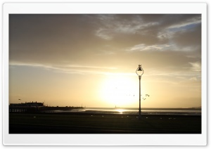 Clontarf Seafront Dublin HD Wide Wallpaper for Widescreen