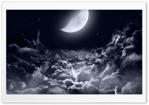 Close to the Moon Ultra HD Wallpaper for 4K UHD Widescreen desktop, tablet & smartphone