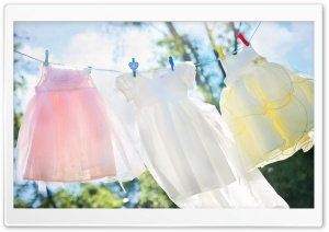 Clothes Line HD Wide Wallpaper for Widescreen