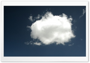Cloud Passing By HD Wide Wallpaper for Widescreen