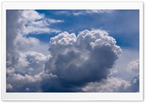 Clouds HD Wide Wallpaper for 4K UHD Widescreen desktop & smartphone